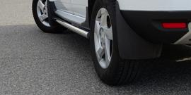 Брызговики Дастер Гард – помогут ли защитить авто от грязи?