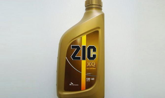 Масло ZIC 5w40 для нормальной работы двигателя