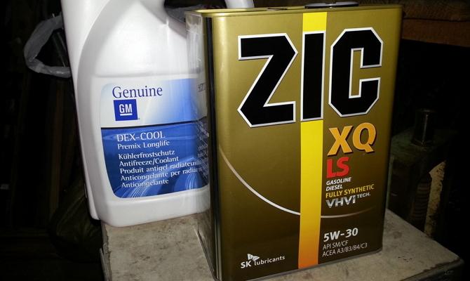 Масло ZIC XQ LS 5w30
