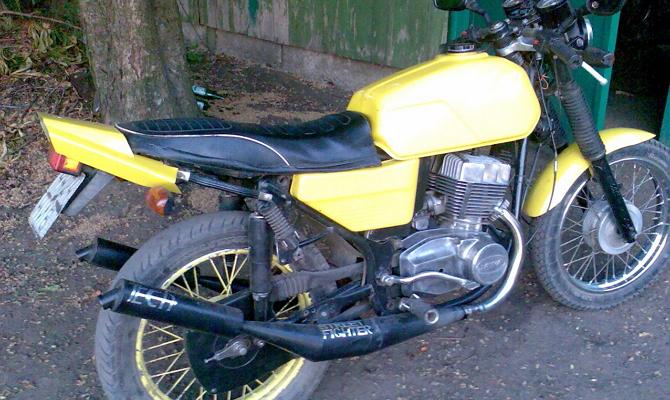 Тюнинг глушителя мотоцикла Ява 350