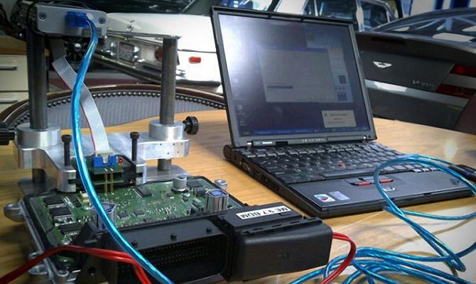 Процесс чип-тюнинга ЭБУ двигателя