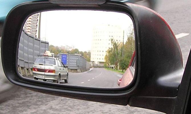 Обзорность бокового зеркала