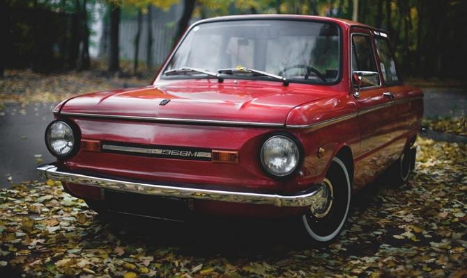 Автомобиль ЗАЗ 968 М