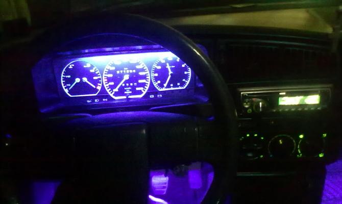 Улучшение подсветки приборной панели