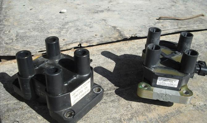 Демонтируем модуль зажигания ВАЗ 2110