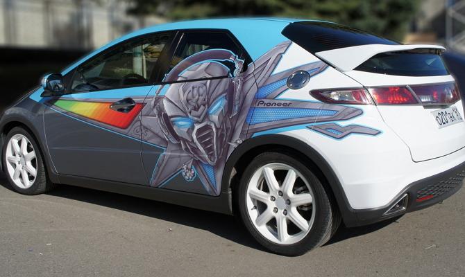 Винилография автомобиля