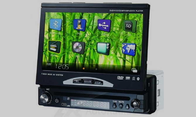 Сенсорный экран с удобным меню управления
