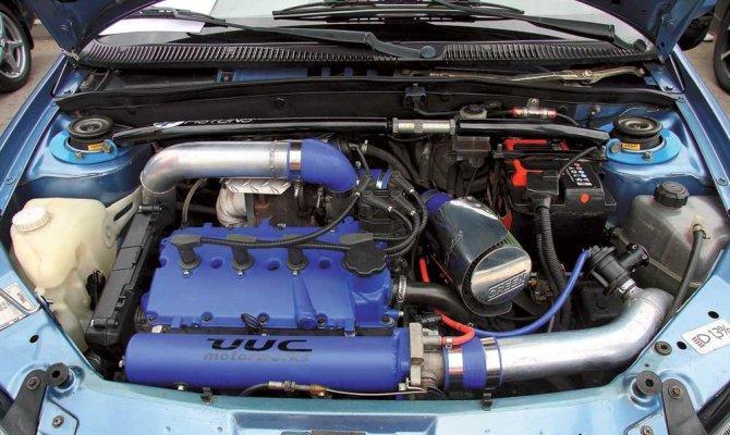 Прокачка двигателя автомобиля