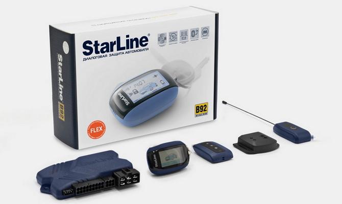 Российская автосигнализация «StarLine Dialog»