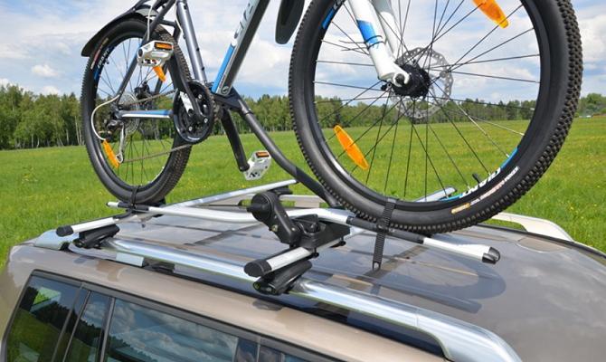 Крепления для перевозки велосипеда