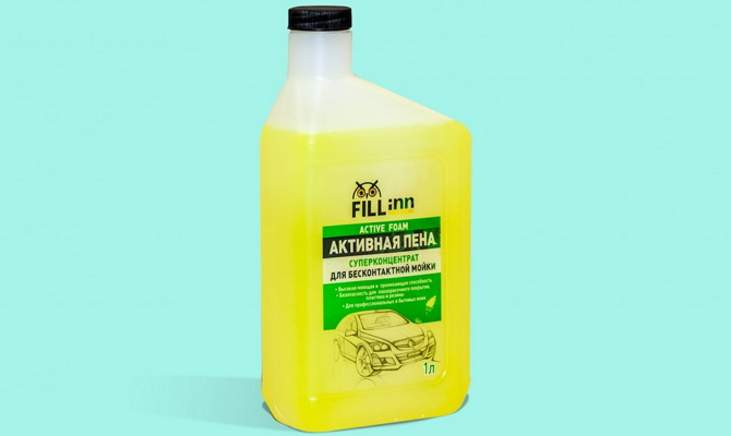 Плохо вспениваемый шампунь «FILL Inn»