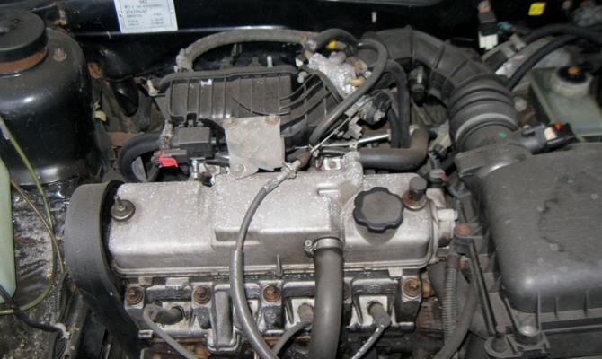 Инжекторный мотор ВАЗ 2115