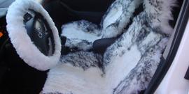 Меховые чехлы на автомобильные сиденья – комфорт и красота вашего салона