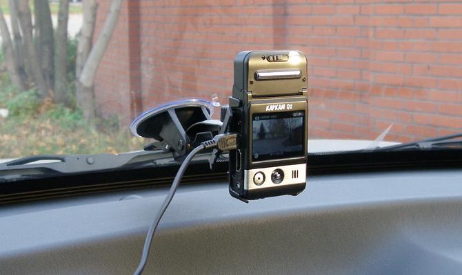 Прибор видеонаблюдения на присоске