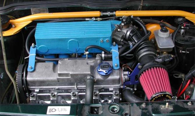 Доработка двигателя ВАЗ 2114