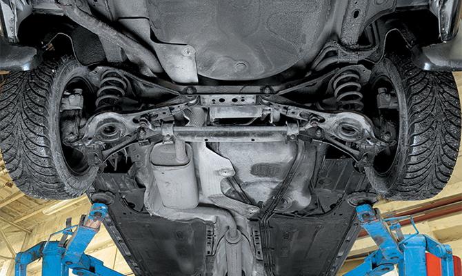 Улучшение подвески Ford Focus 2
