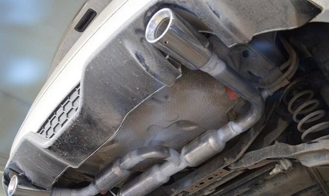 Тюнинг выхлопной системы Ford Escort