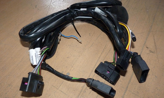 Электрическая проводка для установки съемного фаркопа