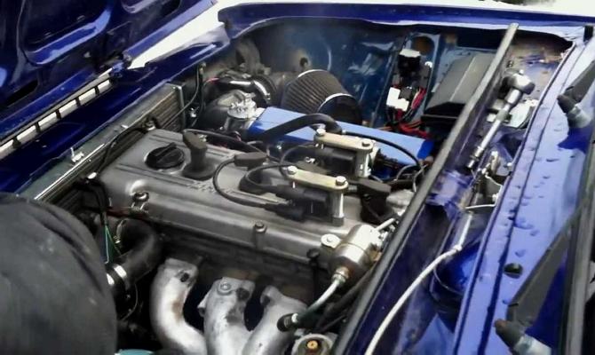 Модернизированная версия «волжского» двигателя ЗМЗ 406