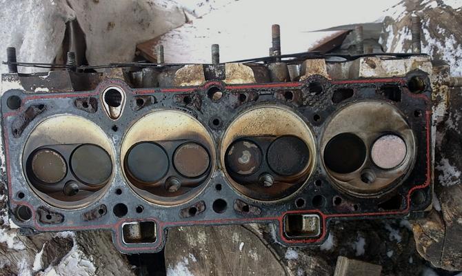 Замена прокладки блока цилиндров ГАЗ 3110
