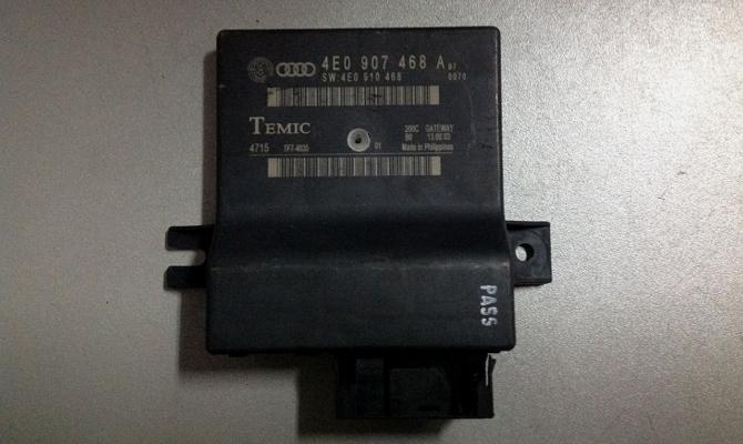 ЭБУ двигателя с межсетевым интерфейсом