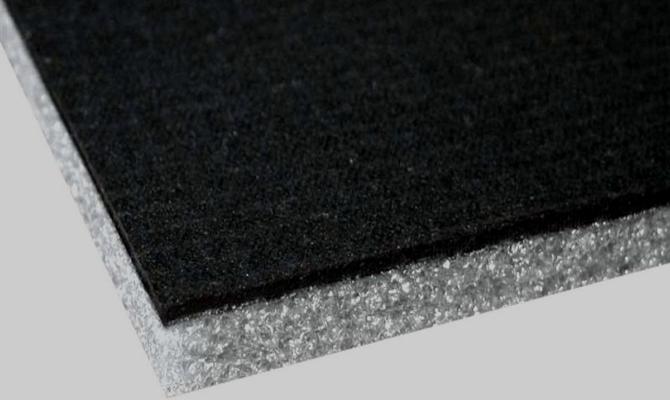 Теплоизоляционный и звукоотражающий материал