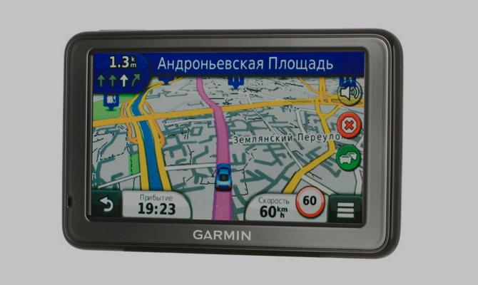 Навигатор «Garmin» и на базе ОС Linux