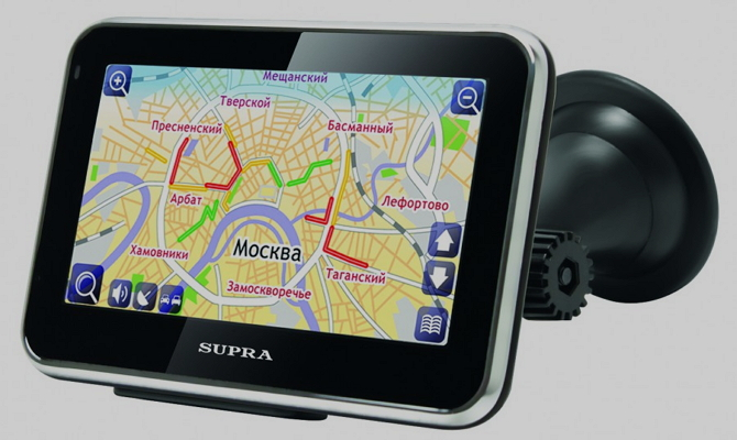 Качественный планшет-навигатор авто