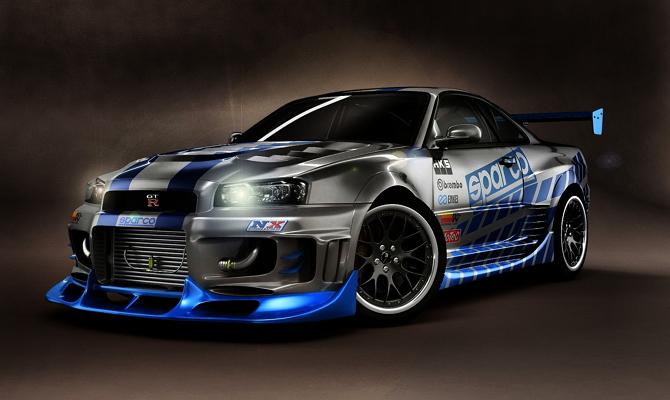 Автотюнинг Nissan Skyline GTR R35