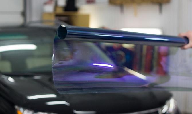 Атермальная пленка для тонировки лобового стекла