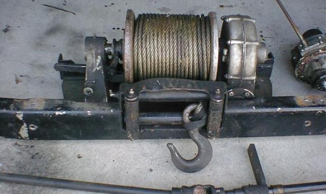 Механическая конструкция лебедки
