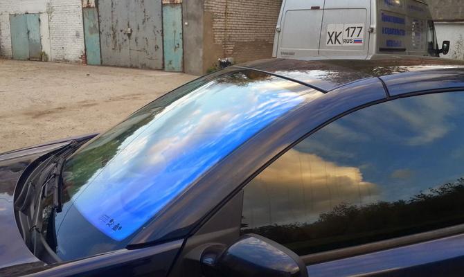 Тонировка автомобильных стекол пленкой