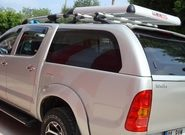 Крышки на багажник Тойота Хайлюкс – сделайте пикап комфортнее