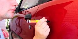 Как подкрасить сколы и царапины на кузове – подробное пособие по восстановлению