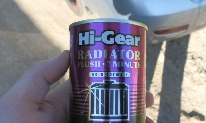 7 минут — столько вам потребуется, чтобы воспользоваться средством Hi-Gear, по крайней мере так утверждает производитель