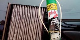 Очиститель кондиционера автомобиля – выбираем средство и чистим самостоятельно