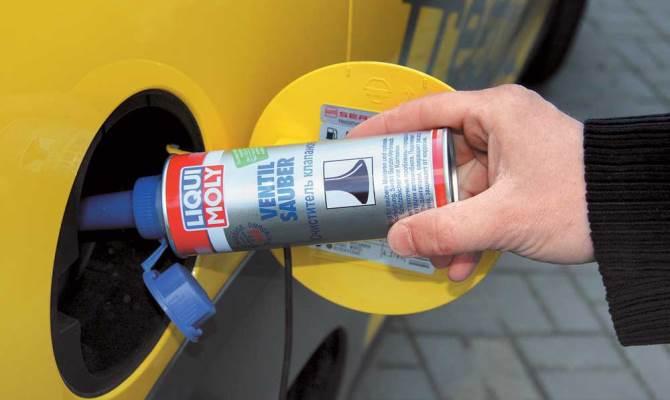 Для повышения качества очистки, рекомендуется добавить в бак финишную промывку