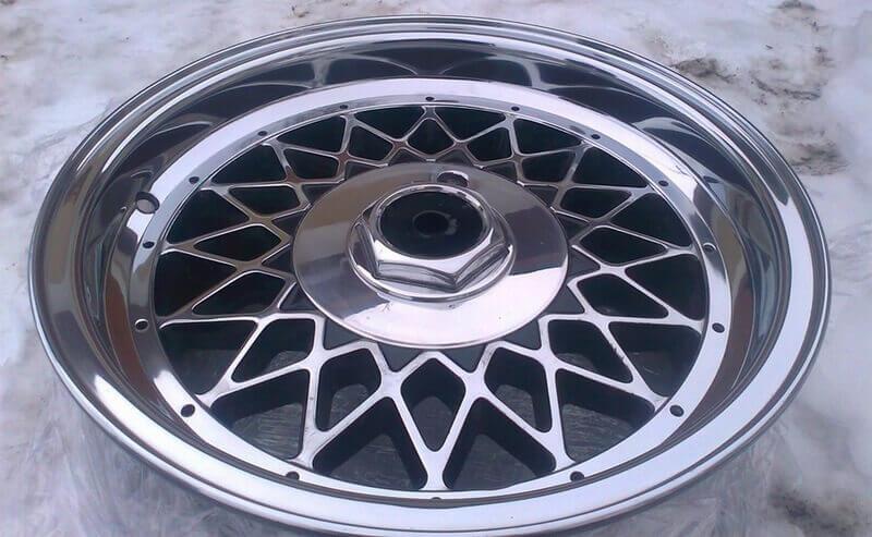 Полировка дисков автомобиля – создаем зеркальный блеск сами