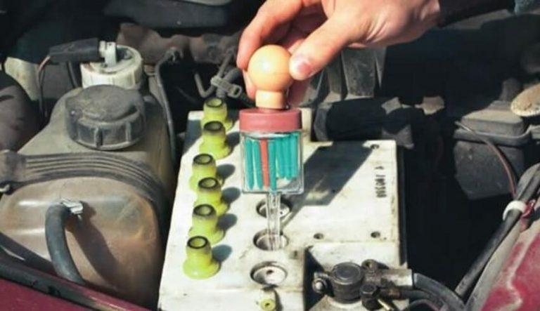 Уровень и плотность электролита в аккумуляторе – нюансы обслуживания батареи