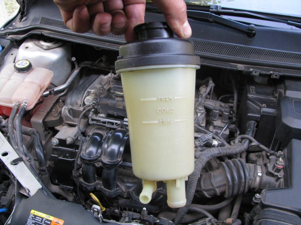 Замена жидкости ГУР Форд Фокус 2 – подробное пособие для новичков