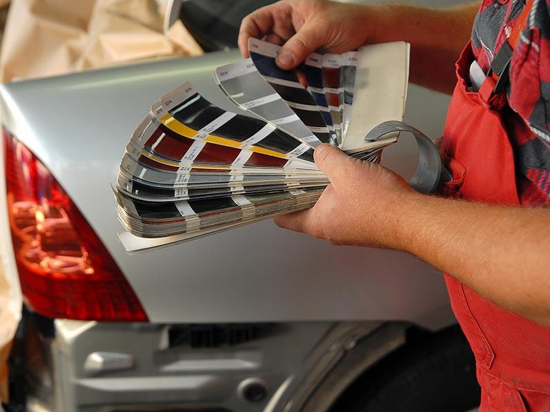 Подбор краски для авто – современные варианты и возможности