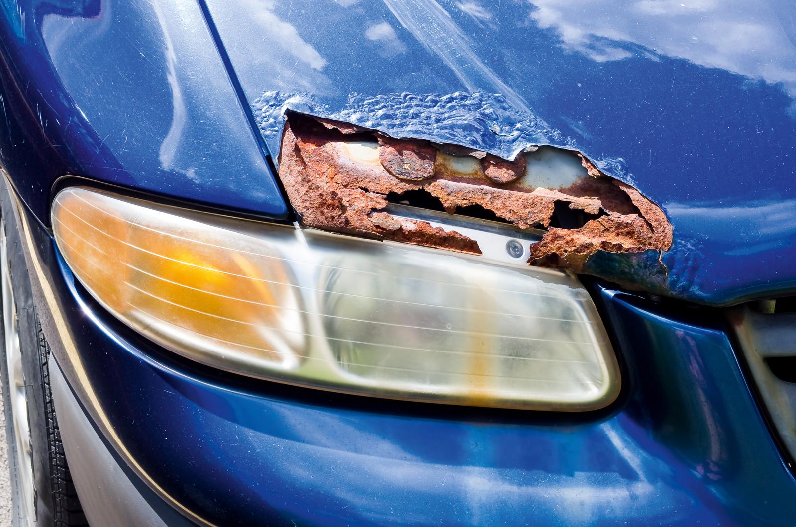 ТОП-5 автомобилей, которые ржавеют в течение года после покупки