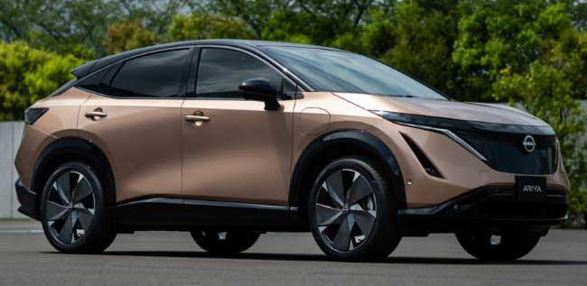 2022 Nissan Ariya – что нового